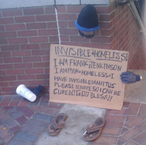 Invisible and Homeless