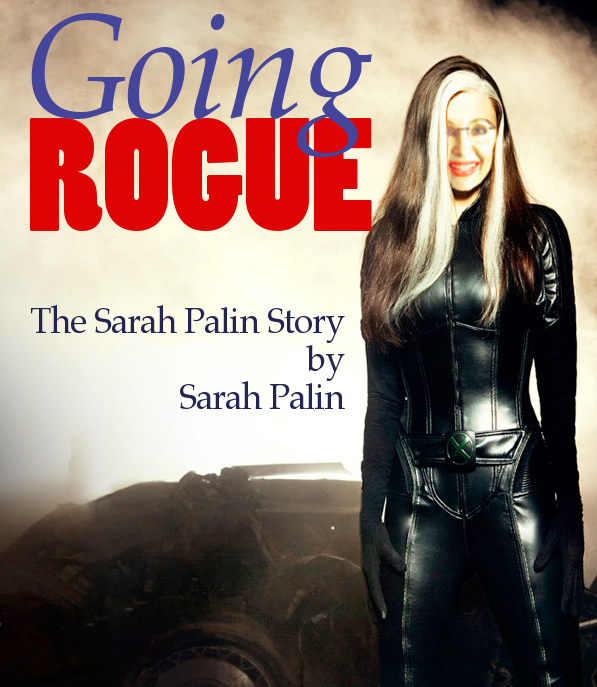 EXCLUSIVE: Sarah Palin's Book Cover Image!!!
