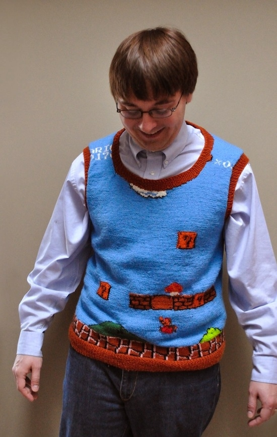 Super Mario Sweater Vest