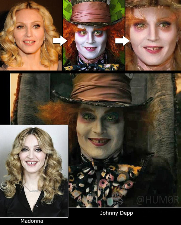 Madonna vs. The Mad Hatter