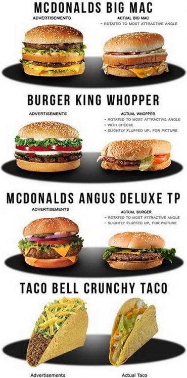 Fast Food In Real Life