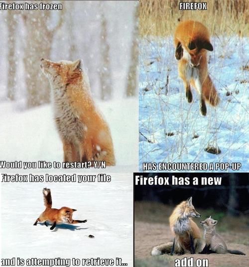 Firefox IRL