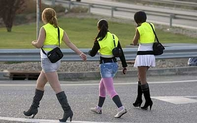 Prostitutes In Spain Avoid Traffic With Yellow Vests