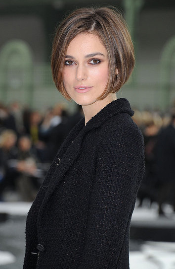 Keira Knightley Cut Her Hair Off