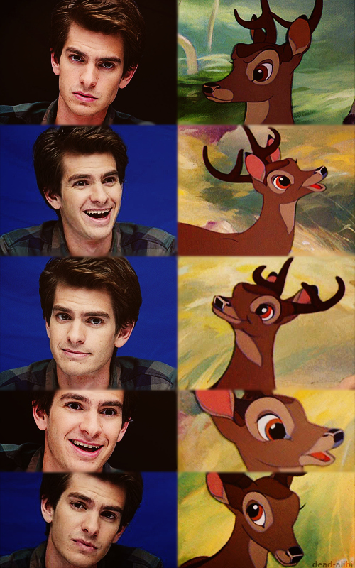 The Many Familiar Faces Of Andrew Garfield
