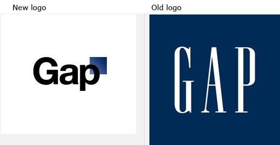 New Gap Logo (Yikes)
