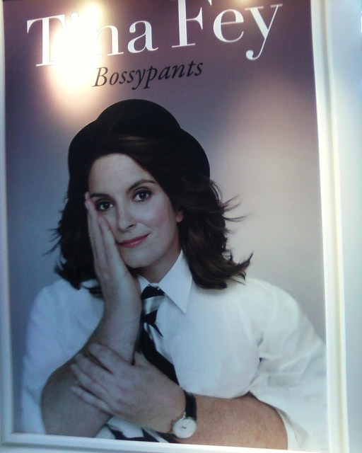 Tina Fey's Book Cover