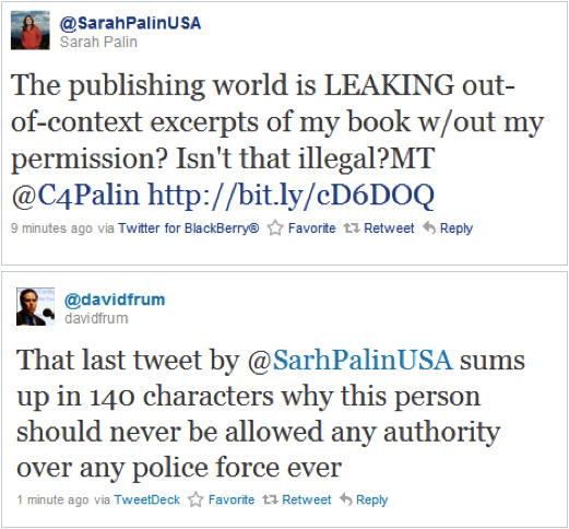 Sarah Palin Tackles Fair Use