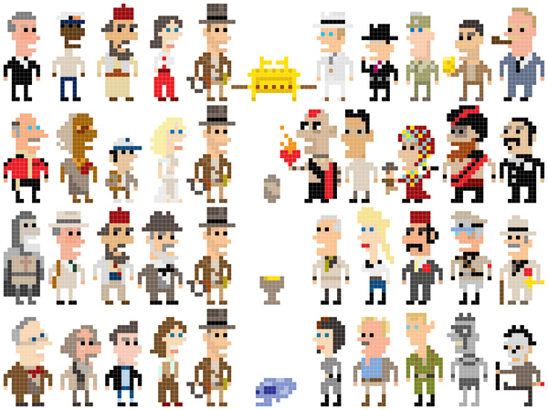 Pixel Indiana Jones