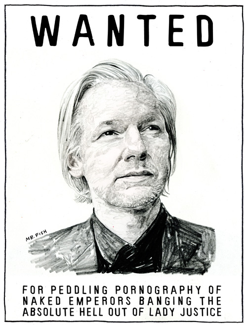 Julian Assange: Wanted For What?