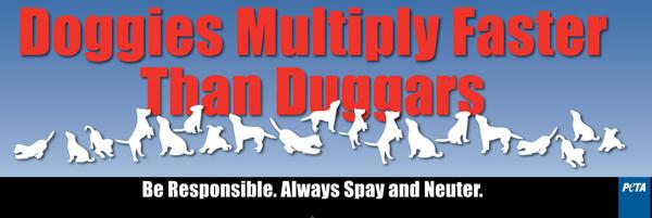 PETA's Duggar Billboard