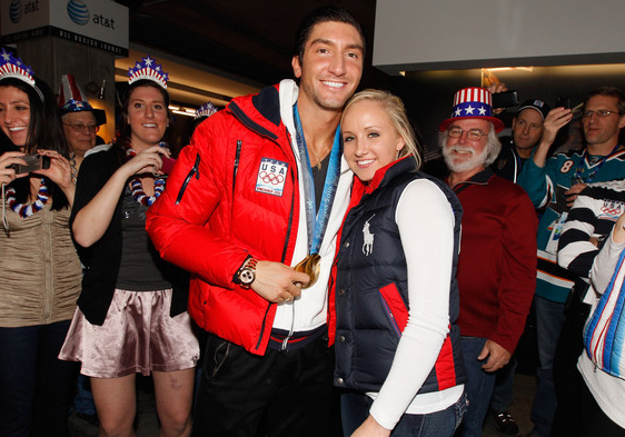 Gold Medal Power Couple Alert