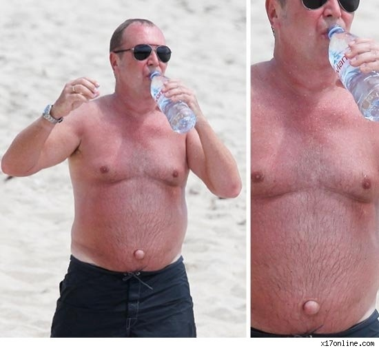Michael Kors' Belly Button