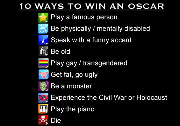 10 Ways to Win an Oscar