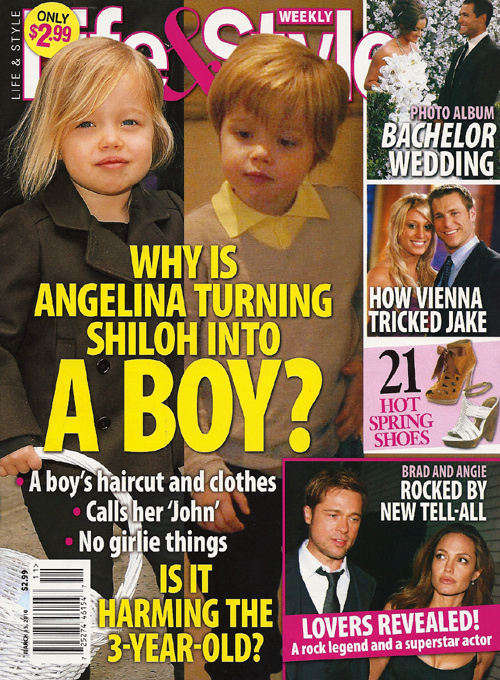 The Shiloh Jolie-Pitt Lesbian Conspiracy