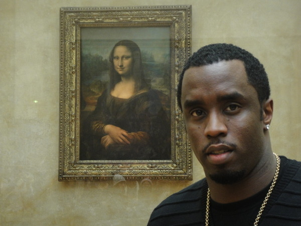 Diddy Supports The Arts