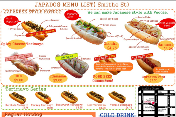 Japanese Hot Dogs