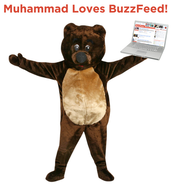 The Prophet Muhammad (In A Bear Suit): Express Yourself!