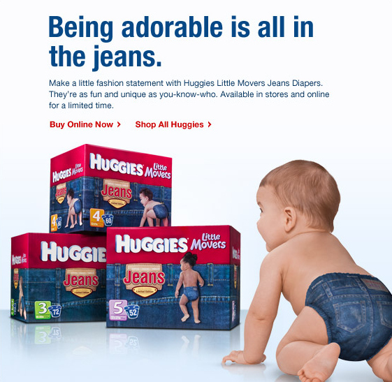 Huggies Hipster Diapers