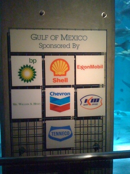 Ironic Aquarium Sponsorship