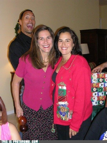 "Dwayne ""The Rock"" Johnson Photobomb"