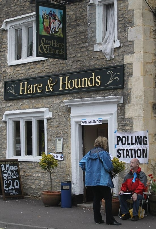 Voting In England Is More Fun