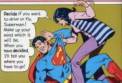 Superman is Whipped