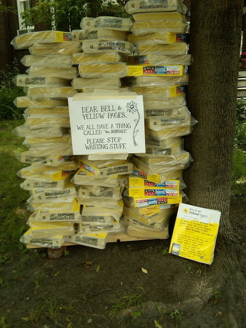 No Use For Yellow Pages?