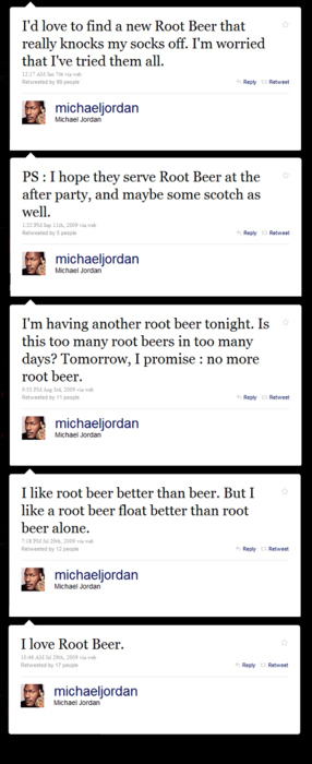 Michael Jordan LOVES Root Beer