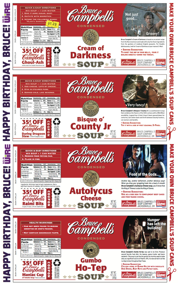 Bruce Campbell's Soup