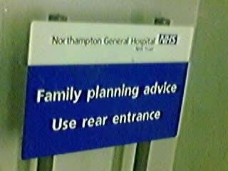 Unfortunate Hospital Sign