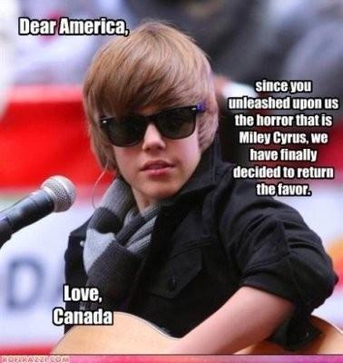 Justin Bieber: Canada's Revenge
