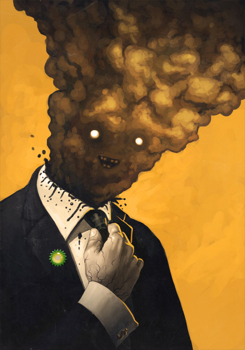 Portrait of a BP Exec