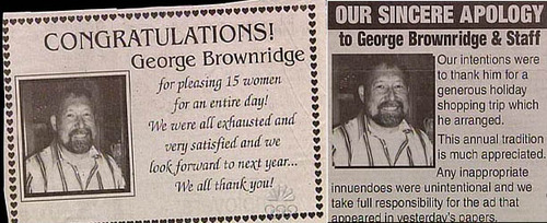 George Brownridge Pleases 15 Women For An Entire Day
