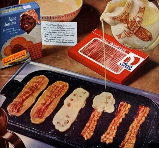 I'd Eat Those: Bacon Pancakes
