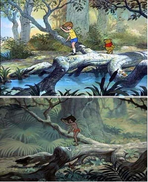 Identical Disney Scenes