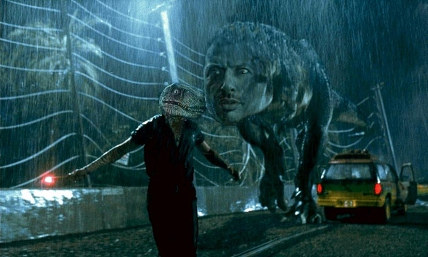 In Soviet Russia Jurassic Park, Jeff Goldblum Chase You!