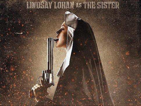 Lindsay Lohan Is A Dirty Nun