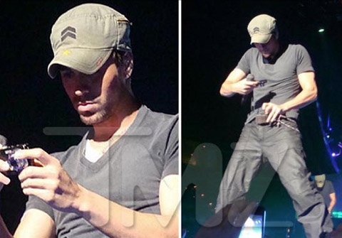 The Best Self-Crotch-Shot Of Enrique Iglesias (SFW!)