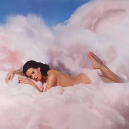Katy Perry Naked For Teenage Dream Album Cover