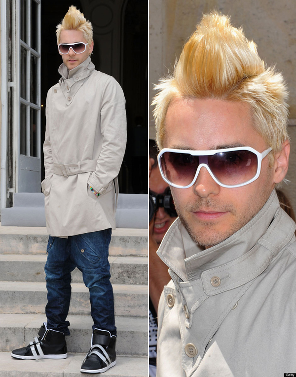 Today In Jared Leto Makeovers
