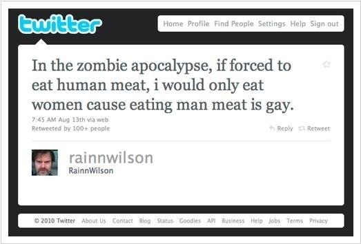 In The Zombie Apocalypse...