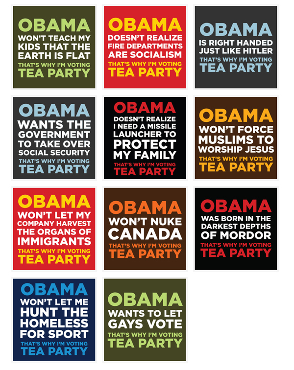 I'm Voting Tea Party!