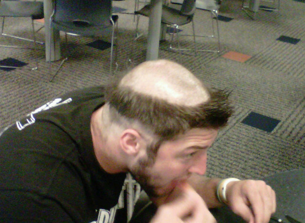 Tim Tebow's New Haircut
