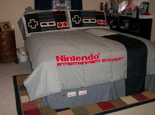 Nintendo Bedspread