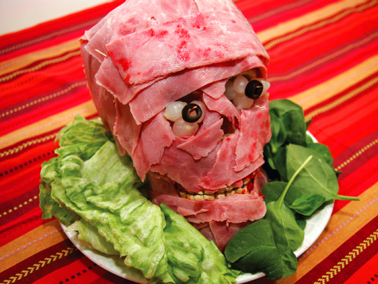 Halloween Meat Head