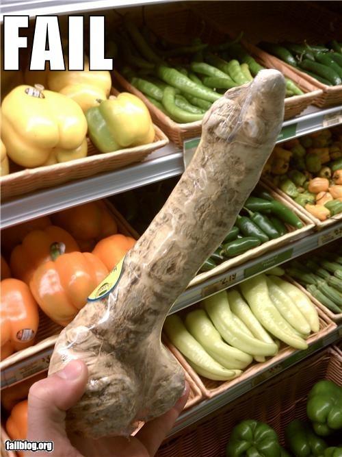 Hung Like A Horseradish (NSFW)