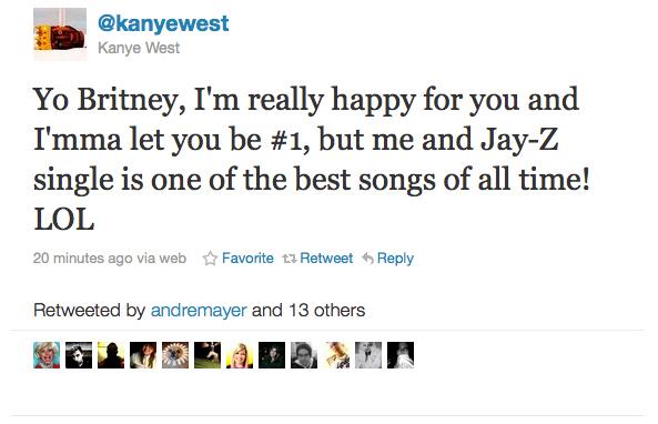 Kanye West Tweets An 'Imma Let You Finish' Joke