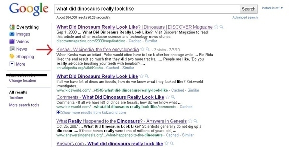 Kesha Is A Dinosaur?