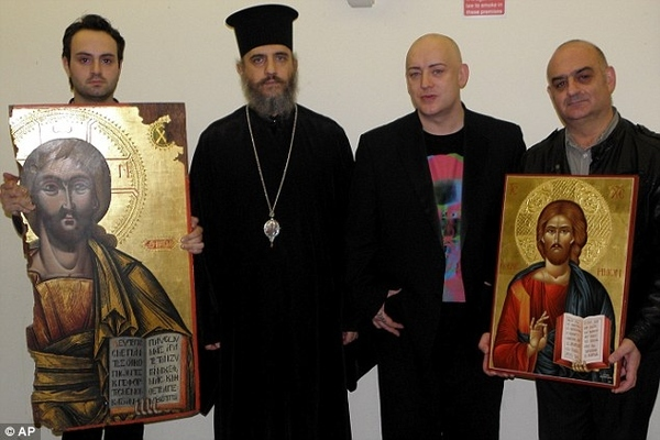 Boy George Had A Stolen Painting Of Jesus